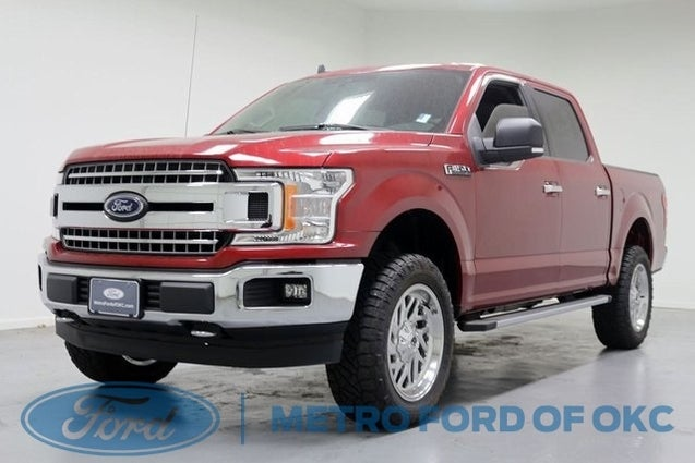 Ford Dealership Okc >> 2019 Ford F-150 XLT WHEELS TIRES LEVEL KIT in Oklahoma ...